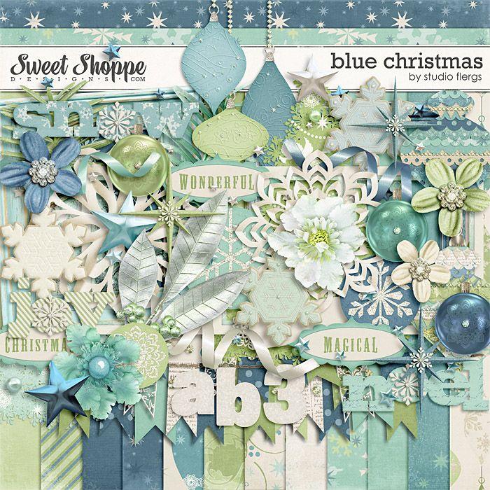 Blue Christmas by Studio Flergs