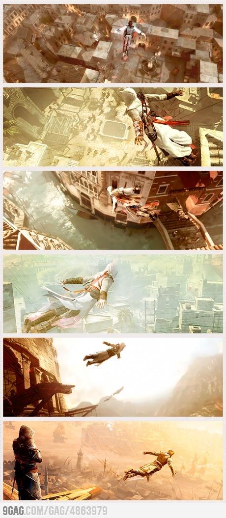Assassins Creed - Leap of Faith