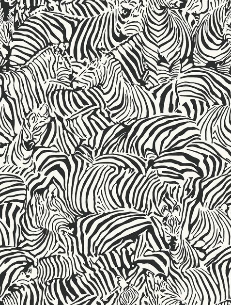 Black & white zebra pattern, textile print design inspiration