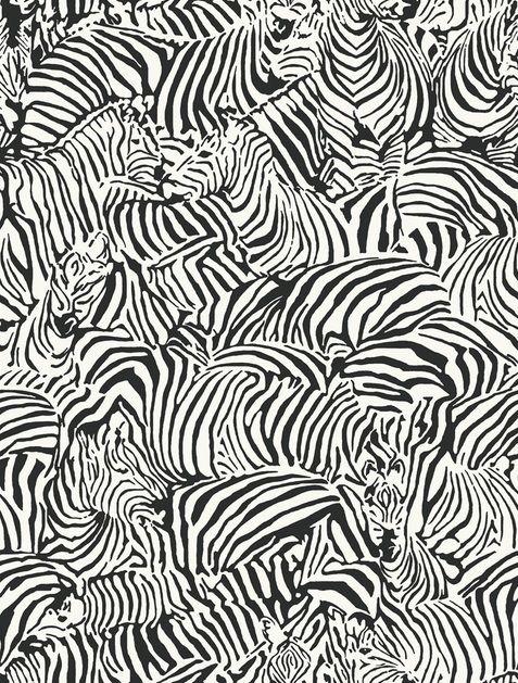 Black & white zebra pattern, textile print design inspiration