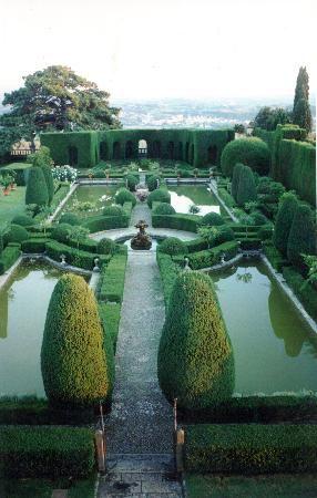 Villa Gamberaia, Settignano, Province of Florence, Tuscany region, Italy.