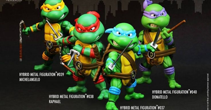 HEROCROSS Teenage Mutant Ninja Turtles Figures Preview - The Toyark - News