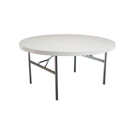 Mesa redonda plegable 120 cm | Tusmesasplegables.com