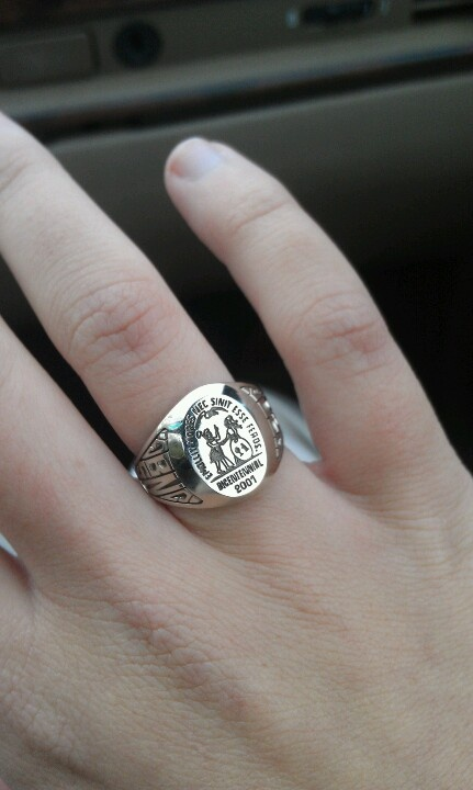 USC college ring, BSN- represent!!