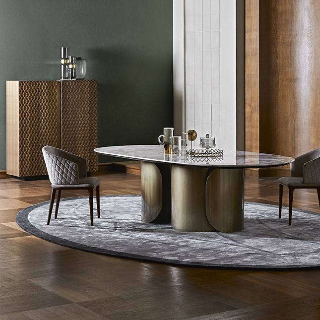Opera Contemporary Oscar Table Oscar Is An Elegant Round Contemporary Designers Furniture Da Vinci Lifestyle Contemporary Furniture Design Furniture Design Italian Furniture Brands