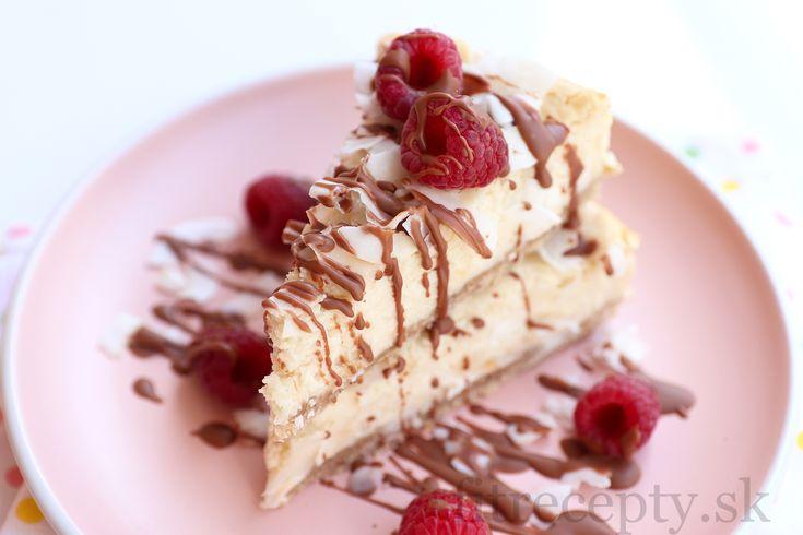 Najlepší fit kokosový cheesecake - FitRecepty