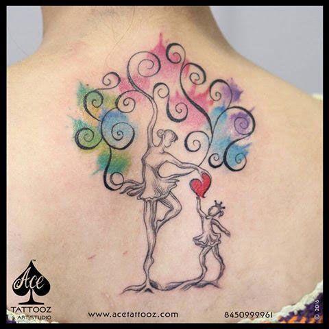 Mom Dad Tattoo Designs- Ace Tattooz | Best Tattoo Studio in Mumbai ...