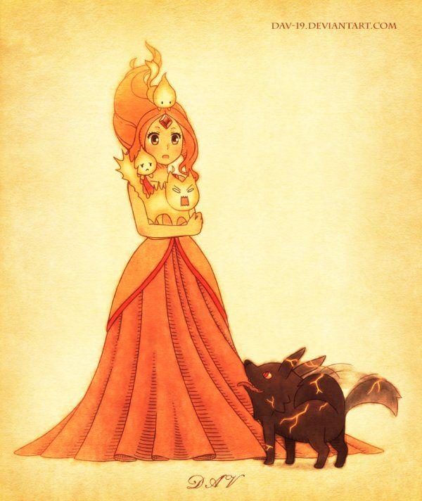 Princesse des Flammes