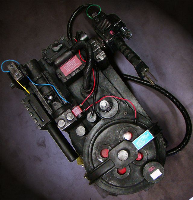 Mega Detailed Ghostbuster Proton Pack Replica, need these for the wedding!!!!
