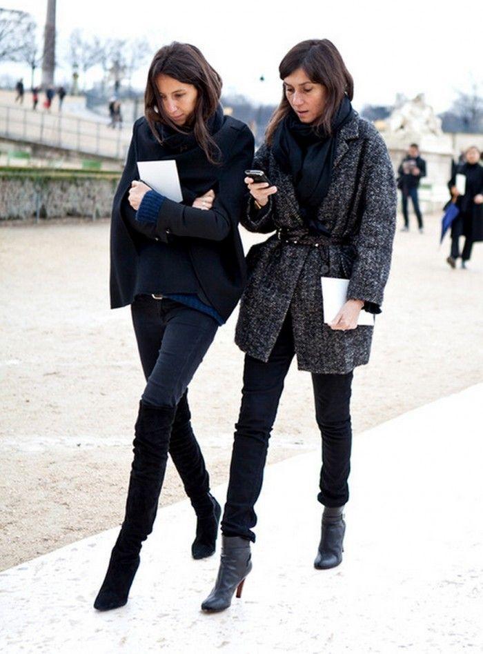 Parisian Chic Street Style - Dress Like A French Woman (36)