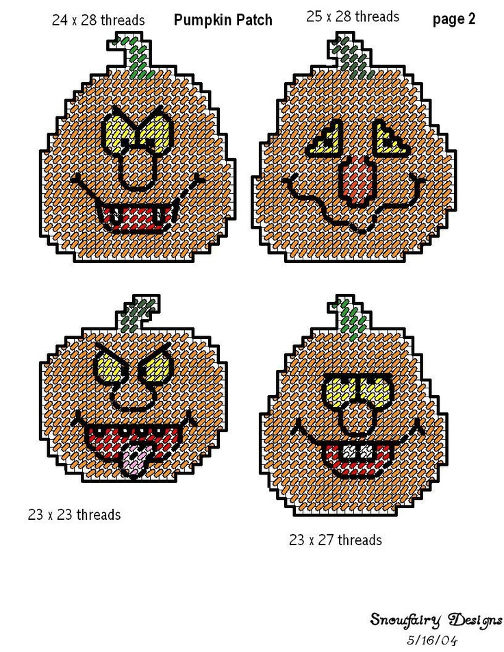 This is a picture of Exhilarating Free Printable Halloween Plastic Canvas Patterns