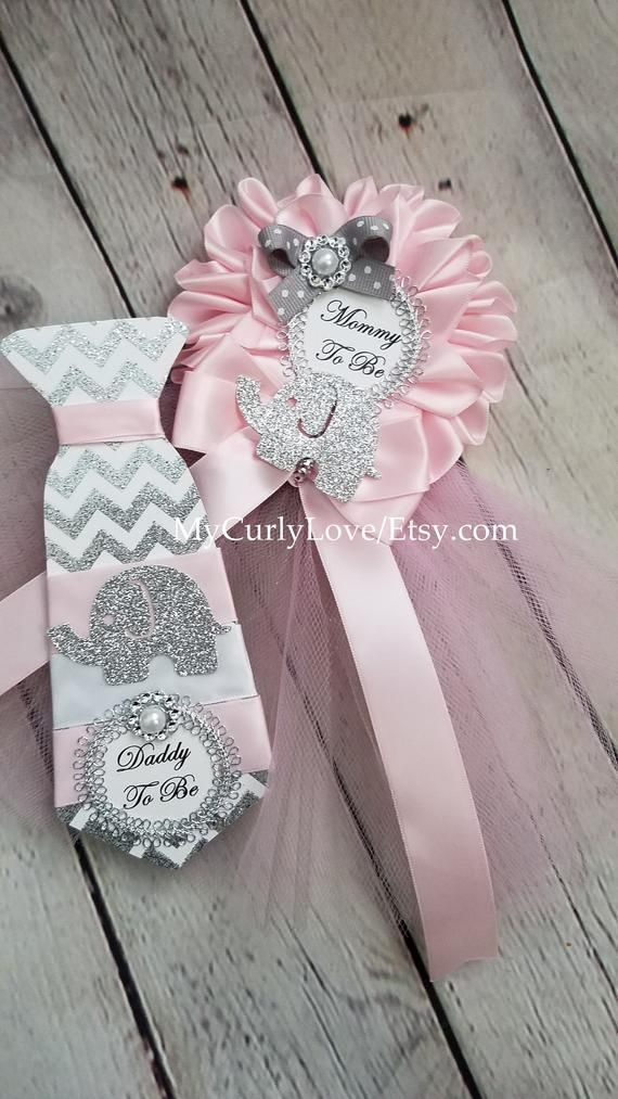 Elephant Baby Shower Pins Elephant Baby Shower Mommy To Be Etsy