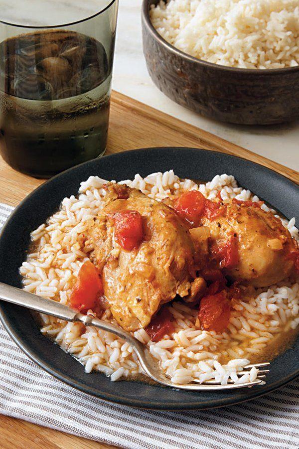 Saucy Chicken Over Rice Recipe Recipe Slow Cooker Chicken Slow Cooker Chicken Dishes Chicken Over Rice
