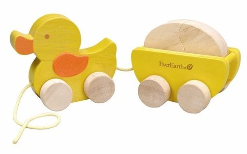 EverEarth Duck and Egg Voted one of 'Parents Best Toys' for its multi-benefits and play-appeal. Teach your child about animals as they practice fitting shapes together, as well as balance and walking. Outer Dimensions L: 26.00cm W: 24.00cm H: 22.50cm