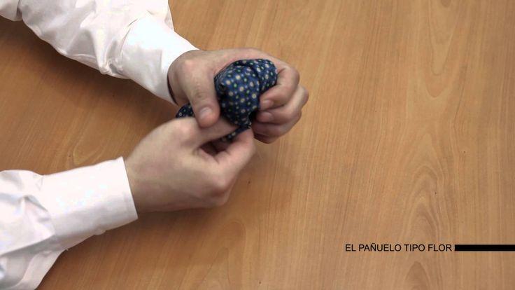 Cómo doblar un pañuelo de bolsillo - SOLOiO