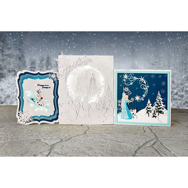 Disney Frozen Melded Olaf Scene Die with Stamp Set (376354)   Create and Craft