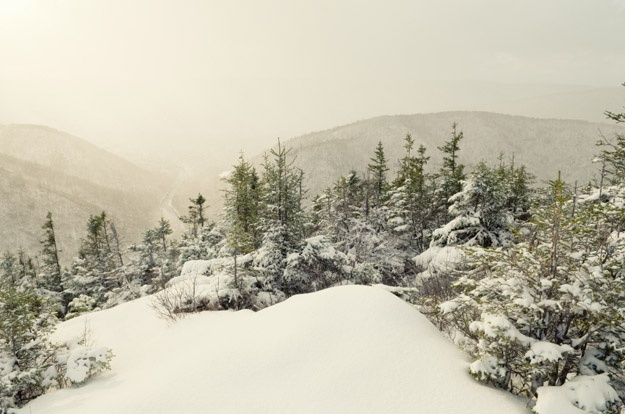The Cape Breton Highlands. Photo by Shaun Lowe. Article: 10 winter cabin getaways in Canada