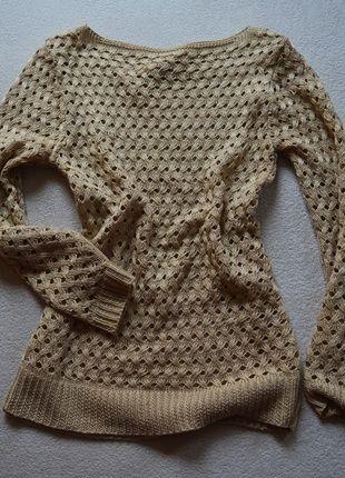 Kup mój przedmiot na #vintedpl http://www.vinted.pl/damska-odziez/swetry-z-dzianiny/11027391-sweterek-bezowy-dziury-rozmiar-sm