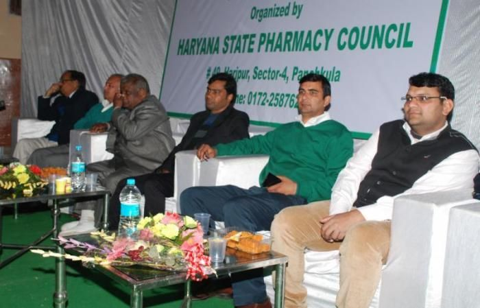 Pharmacists from across the state attended the state level academic programme in Sushila Bhawan in Hisar on February 1.KC Goel, chairman, Haryana State Pharmacy Council, was the chief guest of the programme.