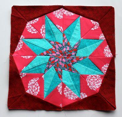 Paper Piecing star 2
