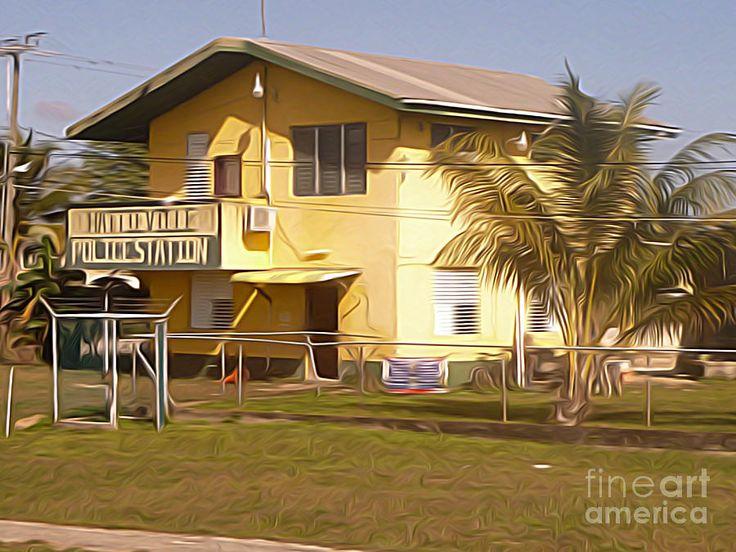 Belize - Hattieville Police Station by Jason Freedman