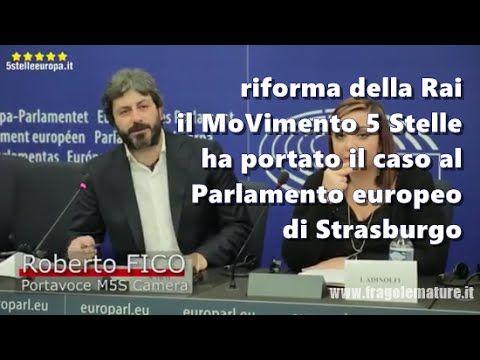 Roberto Fico (M5S) al Parlamento Europeo su #Rai