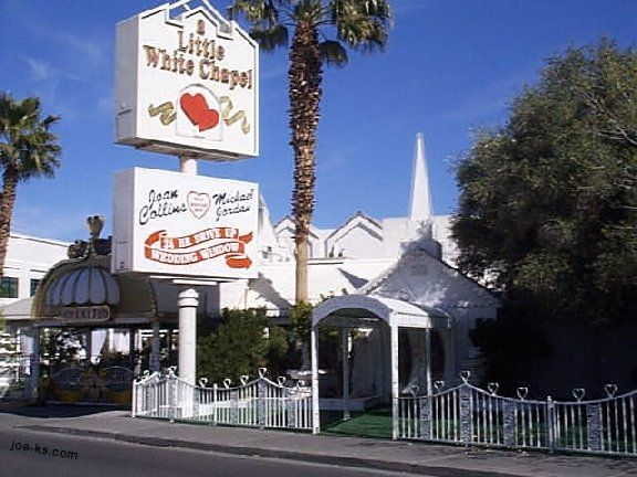 Renew Our Vows With Elvis At A Little White Chapel In Las Vegas