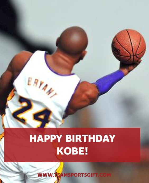 Kobe Bryant, one of the best basketball players of all time, if not the best, will celebrate his 39th birthday August 23. He ranks third in NBA all-time regular season scoring and fourth in the NBA's all-time post-season scoring. He holds the record in the NBA for the most seasons played with one franchise during a career. Team Sports Gift - Team Sports -