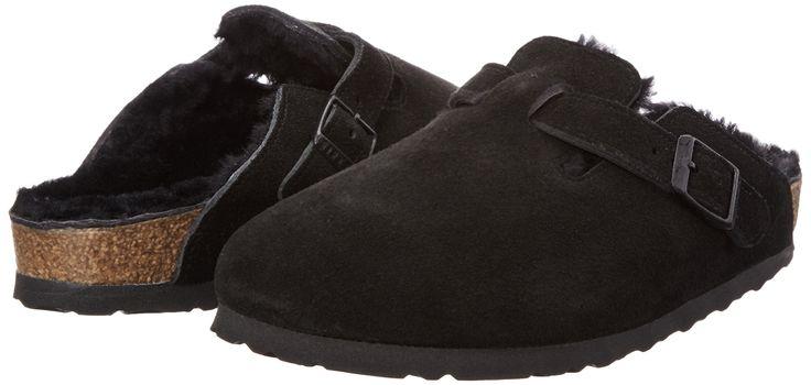 Birkenstock Boston Sheepskin Vl, Damen Clogs: Amazon.de: Schuhe & Handtaschen