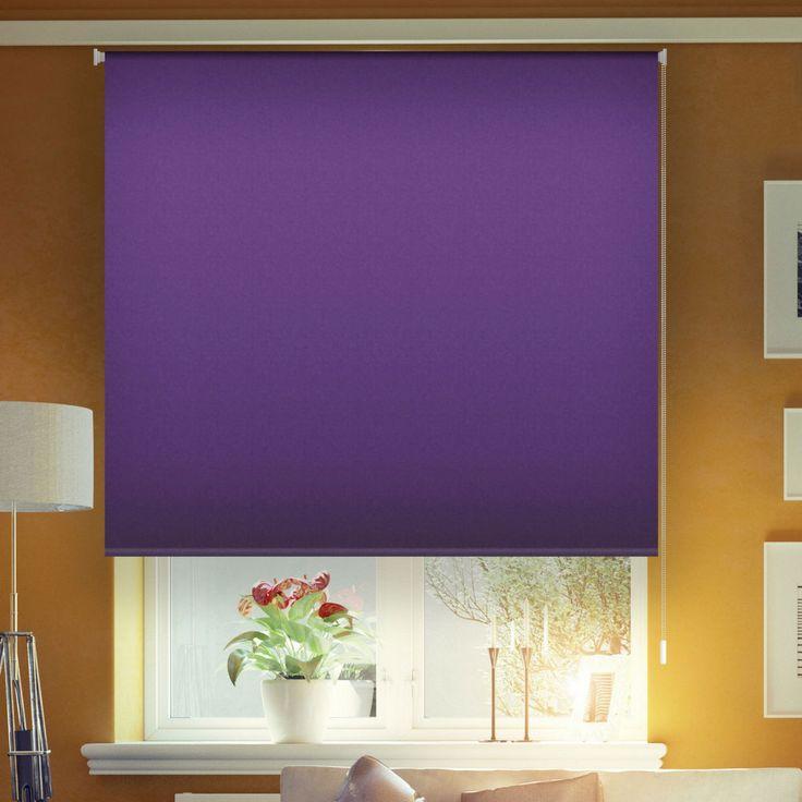 Estor enrollable opaco color violeta #estor #estoresenrollables #puntogar #estoropaco #estorvioleta #violeta