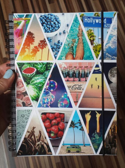 Book Cover Collage Usa ~ Notebook or diary ideas pinterest notebooks and