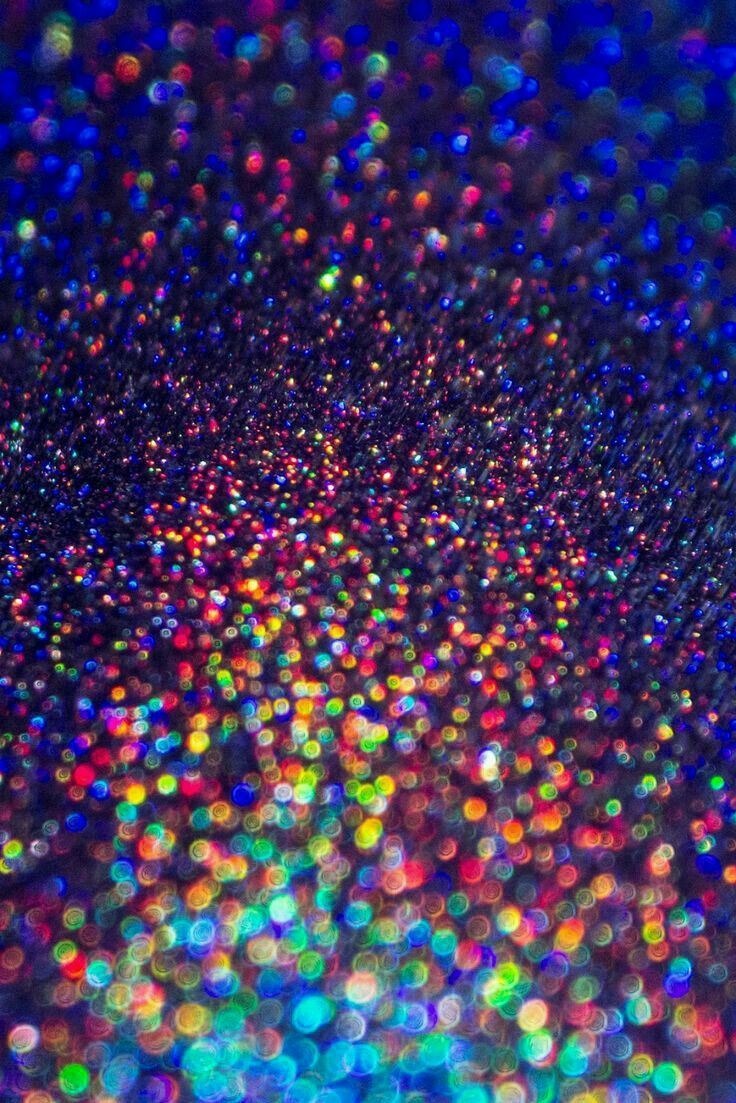 Neon Rainbow Sparkles Блестящие обои