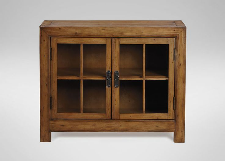 """Ethan Allen Ming Small Media Cabinet 40""""w x 18""""d x 32""""h $1036"""