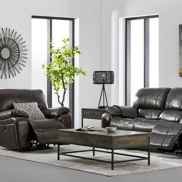 Santorini Power Reclining Sofa And Recliner Set Black Reclining Sofa Power Reclining Sofa Living Room Inspiration