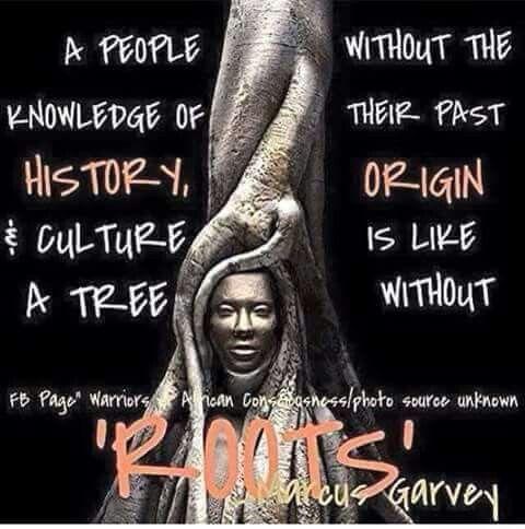 Marcus Garvey quote.