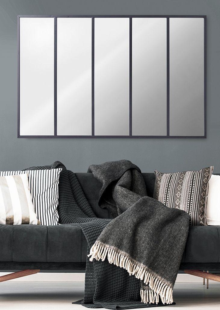 Miroir Metal 5 Bandes Dada Art 90 X 140 Cm En 2019 Miroir