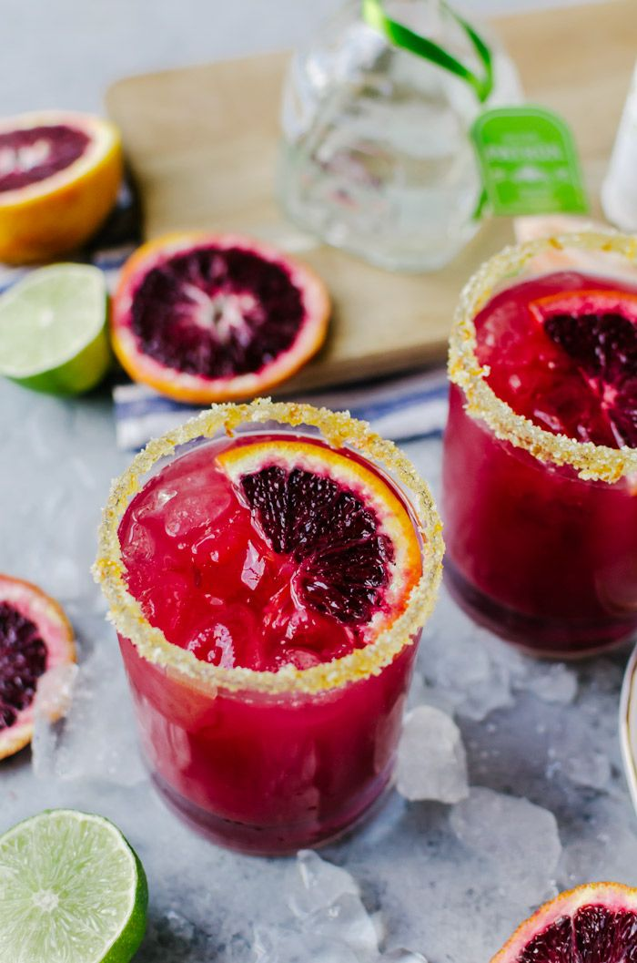 Sweet, vibrant blood orange margaritas are a fun twist on the classic cocktail that will make any occasion feel that much more special.