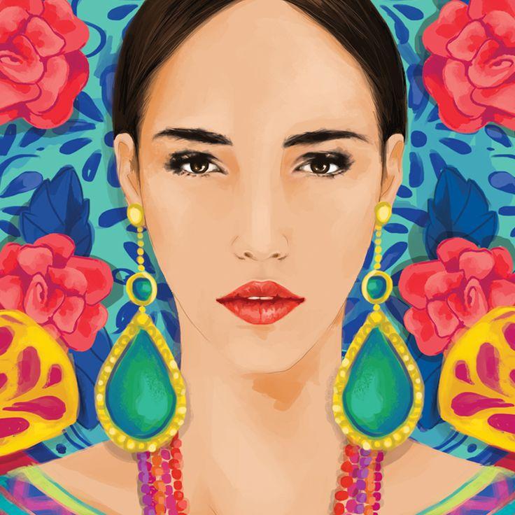 """Virgen Santa """"OFELIA"""" by Oscar Torres"""