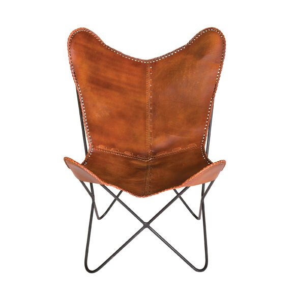 Harrison Butterfly Chair - Brown