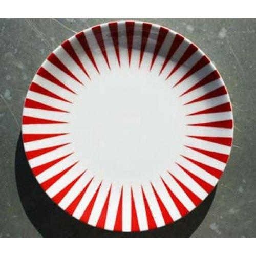 Sailor Röd, Tallrik 22 cm