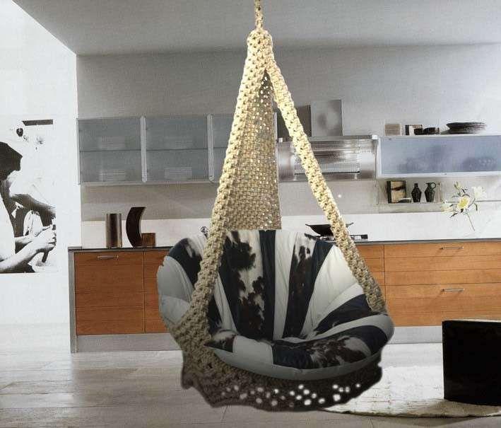 Amache di design - Poltrona amaca per interni