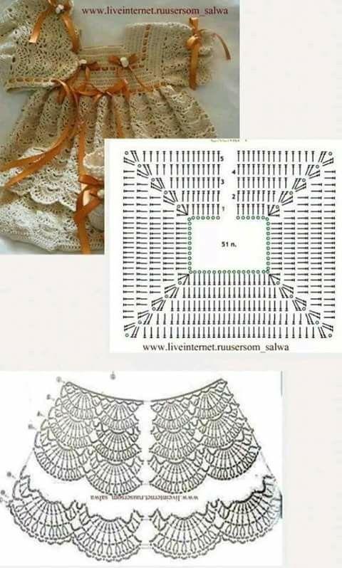 Ropa para bebes crochet   Camisas mejicanas   Pinterest   Crochet ...