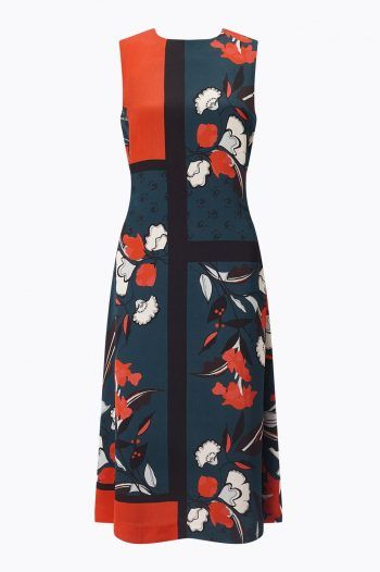 Jigsaw Nordic Floral Salena Dress Orange 1 220x330 What to wear to a Christening