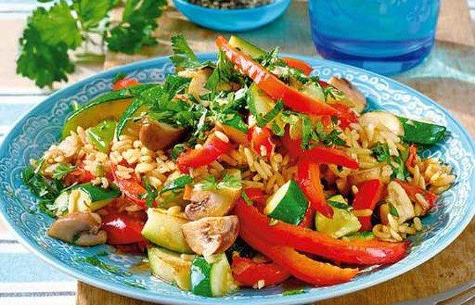 10 kalorienarme Reis-Rezepte