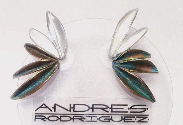 Topos anís, plata y cobre oxidación