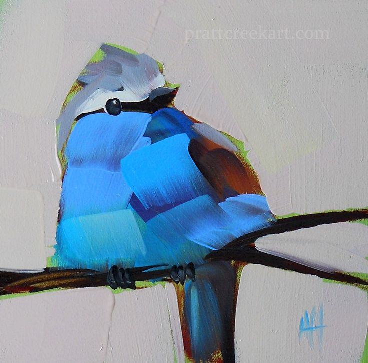 Angela Moulton. Love her birds