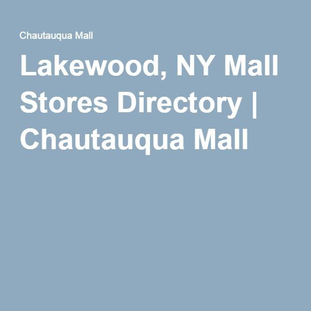Lakewood, NY Mall Stores Directory | Chautauqua Mall
