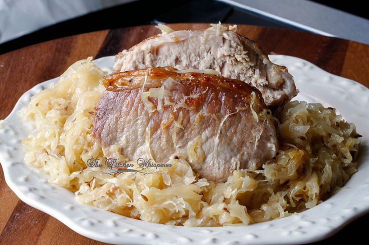 Best Ever Pork Roast and Sauerkraut ♥ The Kitchen Whisperer