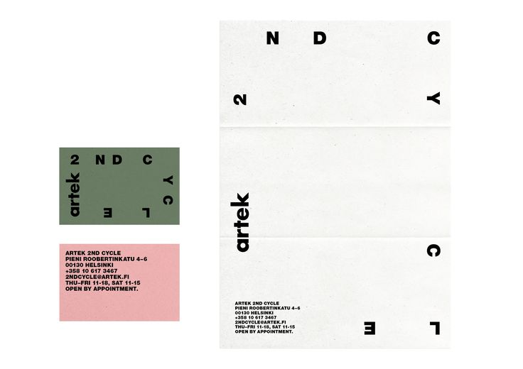 Tony Eräpuro,  logo design,  typography, poster, scatter, ramdom, identity, graphic design, artek, artek 2nd cycle, helsinki, finland, alvar aalto, architecture, stationary, business card, letterhead