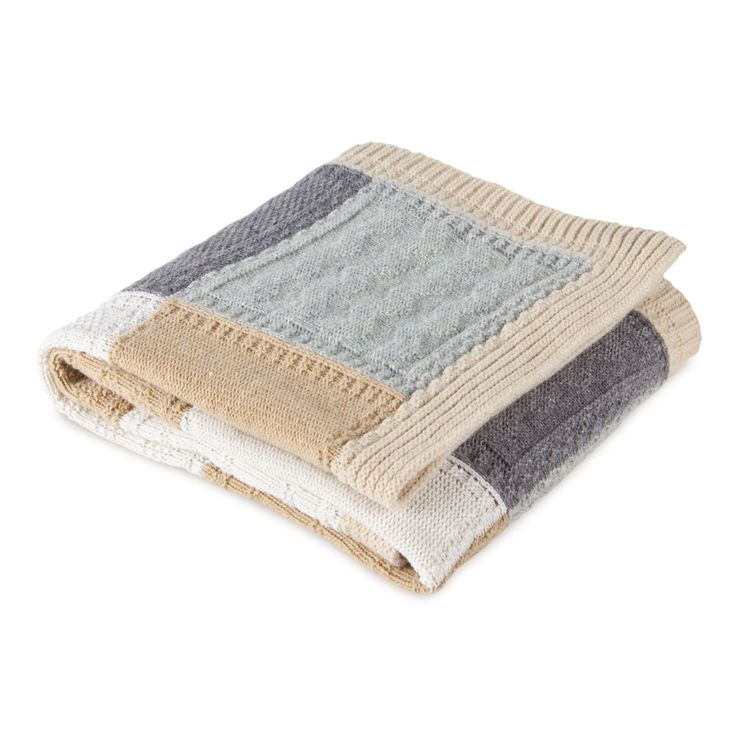 Gender neutral colour scheme baby blanket Zara Home online
